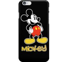 Mickey (White Border) iPhone Case/Skin