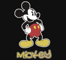 Mickey (White Border) by Link270