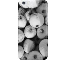 Black and White Pumpkins iPhone Case/Skin
