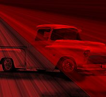 1956 Chevy Pick-Up 'Shear Magic' by DaveKoontz