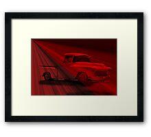 1956 Chevy Pick-Up 'Shear Magic' Framed Print
