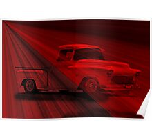 1956 Chevy Pick-Up 'Shear Magic' Poster