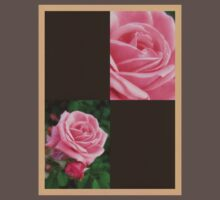Pink Roses in Anzures 2 Blank Q3F0 Baby Tee