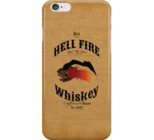 Hell Fire Whiskey iPhone Case/Skin