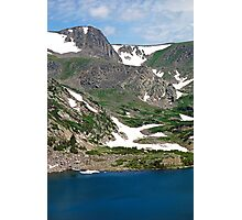 King Lake at Rollins Pass T  Photographic Print
