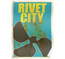 Travel poster Rivet City Poster