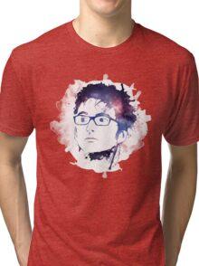10th Doctor- David Tennant  Tri-blend T-Shirt