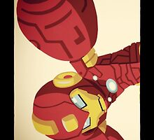 Mega Iron Man by Andrew Wood