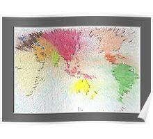 World map as art Poster