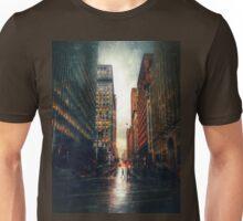 Walking in the Rain - San Francisco Unisex T-Shirt