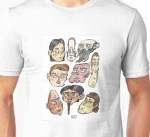 Don Mills Station Subway Faces Unisex T-Shirt