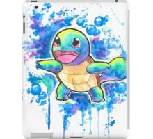 Cool Squirtle Watercolor Tshirts + More! ' Pokemon ' Jonny2may iPad Case/Skin