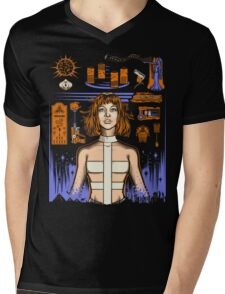 One Supreme Being Mens V-Neck T-Shirt