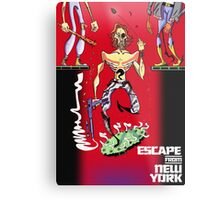 Escape from New York Snake Plissken Metal Print
