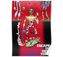 Escape from New York Snake Plissken Poster