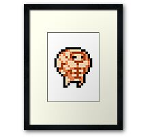 Nuclear Throne - Steroids - Chest - HIGH QUALITY Framed Print
