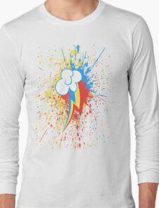 Rainbow Dash Splash Long Sleeve T-Shirt