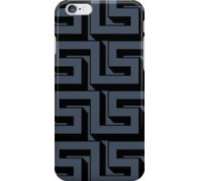 Blue Maze iPhone Case/Skin