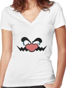 Game - Da Nose Women's Fitted V-Neck T-Shirt