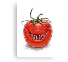 Toothy Tomato Canvas Print