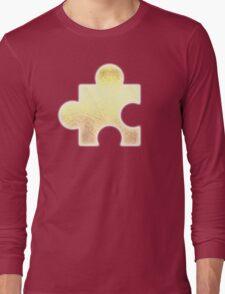 Golden Jigsaw Piece - Banjo Kazooie Long Sleeve T-Shirt