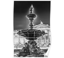 William Brown Street Fountain Poster