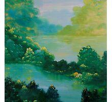 Creek Lake Photographic Print