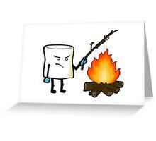 Marshmallow Revenge Greeting Card