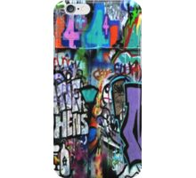 Graffiti, London iPhone Case/Skin