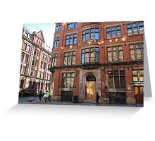 Manchester red Greeting Card