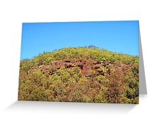 Cliff View Greeting Card