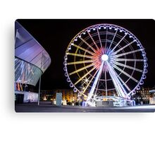 Liverpool Big Wheel Canvas Print