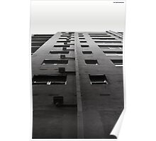Scale tall buildings Poster