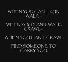 When you can't run... (dark) by KittenPokerUK