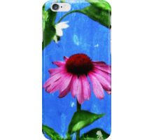 Dance of the Vintage Echinacea Flower iPhone Case/Skin