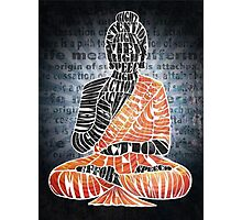 The Eightfold Path Buddha Photographic Print