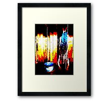 Who Will Survive and What Will Be Left of Them? Framed Print