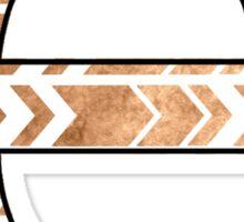 Letter Series - e (arrows) Sticker