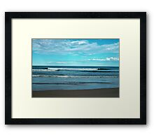 Beautiful Waves Framed Print