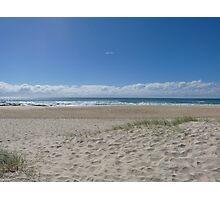 Footprints at Currumbin Beach Photographic Print