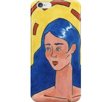 Primary Colour Woman iPhone Case/Skin