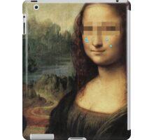 Mona Lisa (1503 - 1507) {SAD ART} iPad Case/Skin