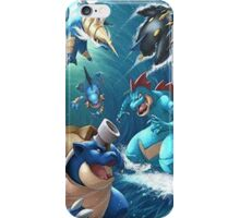 Water starters iPhone Case/Skin