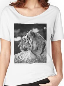 Siberian Tiger  Women's Relaxed Fit T-Shirt