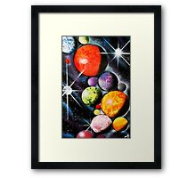 New Space Age Framed Print