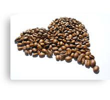 The spirit of coffee Canvas Print