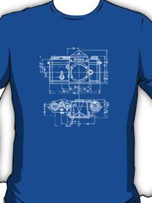 Vintage Photography: Nikon Blueprint T-Shirt
