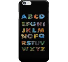 Pokemon Alphabet iPhone Case/Skin