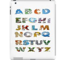 Pokemon alphabet iPad Case/Skin