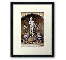 Epcot fountain Framed Print